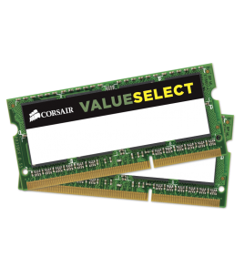 Corsair Value Select 16GB (2x8GB) 1600MHz DDR3L SODIMM CL11 (CMSO16GX3M2C1600C11)