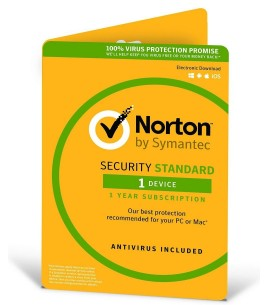 Symantec Norton Security Standard 3.0 ESD 1 Device , 1 Year (21358602)