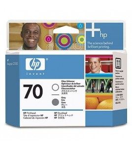 HP 70 Gloss Enhancer & Gray Printhead (C9410A  )