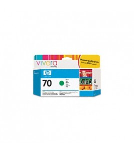 HP 70 130 ml Green Ink Cartridge with Vivera Ink (C9457A)