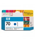 HP 70 130 ml Blue Ink Cartridge with Vivera Ink (C9458A)