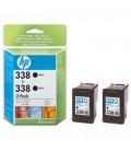 HP 338 2-pack Tri-Colour Print Cartridge with Vivere Ink (CB331EE)