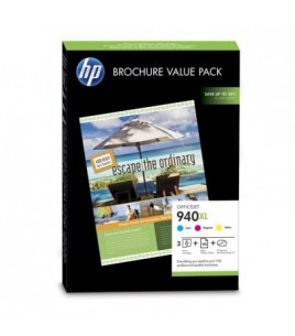 HP 940XL Officejet Brochure Value Pack / 100 sht 210x297mm (CG898AE)