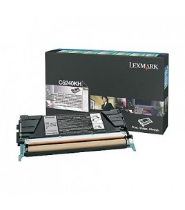 Lexmark C522/524/532/534 HC Black Toner Cartridge (8k) (C5240KH)