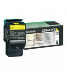 Lexmark C 544/X544Yellow Toner Cartridge HY (4k) (C544X1Y)