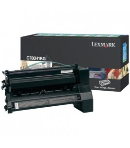 Lexmark C780/782 Black Toner Cartridge (6k) (C780A1KG)