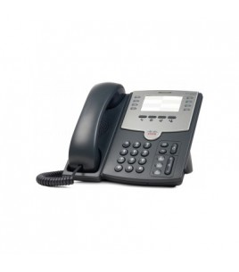 Cisco SPA-501G 8-Line IP Phone with 2-Port Switch, PoE and Paper Label
