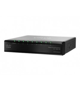 Cisco SF100D-08 8-Port 10/100 Unmanaged desktop switch (SF100D-08-EU)