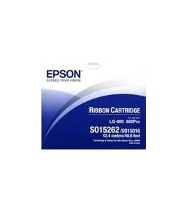 Epson S015262 Ribbon Black for LQ 670/860/1060/2500/2550/680/680Pro (S015262/15016)