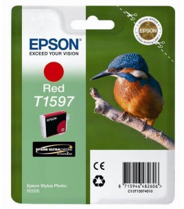 Epson T1597 for Stylus Photo R2000, Red (C13T15974010)