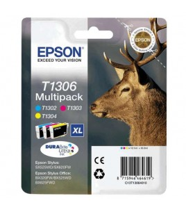 Epson T1306 Multipack XL, T130240, T130340, T130440 Cyan, Magenta, Yellow (C13T130640)