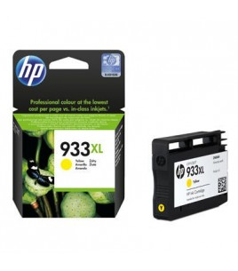 HP 933XL Officejet Ink Cartridge, Yellow (CN056AE)