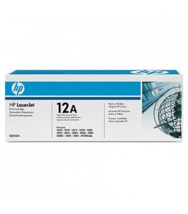 HP 12A Black Dual Pack LaserJet Toner Cartridges (Q2612AD)