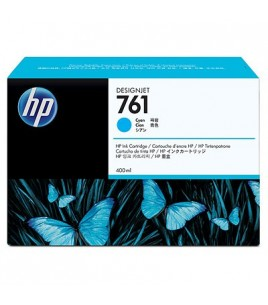 HP 761 400-ml Cyan Designjet Ink Cartridge (CM994A)