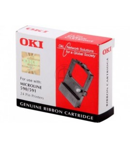 OKI Black Ribbon for ML 590/591 (09002316)
