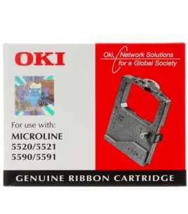 OKI Black Ribbon for ML 5520/5521/5590/5591/5500 (01126301)