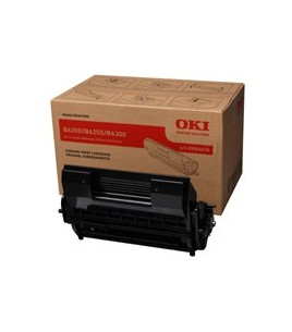 OKI Black Toner & Drum Unit (17k) for B 6300 (09004079)