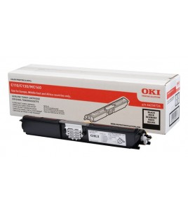 OKI Black Toner Cartridge High Capacity (2.5k) for C110/130, MC160 (44250724)