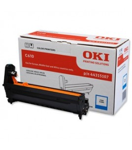 OKI Drum Cyan (20k) for C610 (44315107)