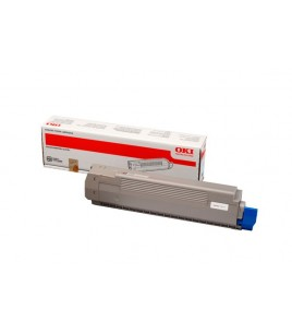 OKI Toner Cartridge Black (7k) for C801/821 (44643004)