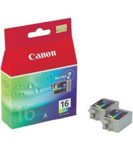 Canon BCI-16CL Twin pack colour ink cartridges (9818A002)
