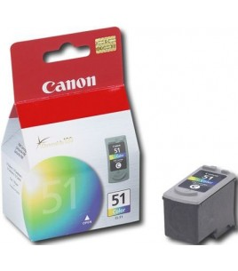Canon CL-51 Color High Yield Ink Cartridge (0618B001)
