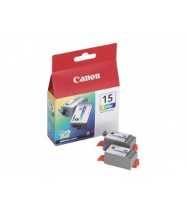 Canon BCI-15CL Twin Pack Color Ink Cartridges (8191A002)