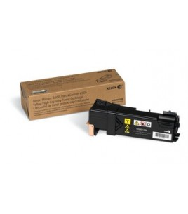 Xerox Yellow Toner Cartridge High Capacity (2.5k) for Phaser 6500, WorkCentre 6505 (106R01596)