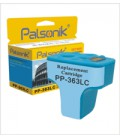 Palsonik Συμβατό Μελάνι HP No 363 Light Cyan (C8774EE) (GN-H-363LC)