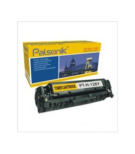 Palsonik Συμβατό Toner HP CE322A Yellow (GT-H-128Y-C)