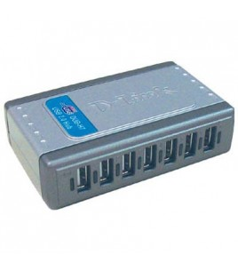 D-Link DUB-H7, USB 2.0, 7-port