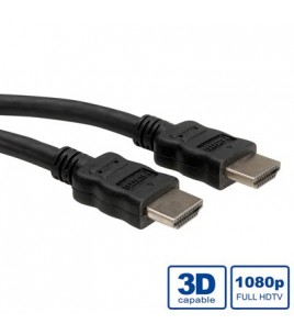 Roline καλώδιο HDMI 1m w/ETHERNET (S3671-120)
