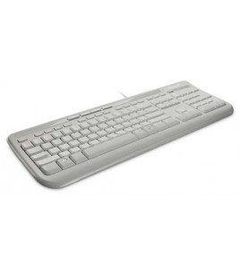 Microsoft Wired Keyboard 600, White, Retail (ANB-00031)