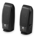 Logitech Speakers S-120, 2.3 Watt, Black (980-000010)