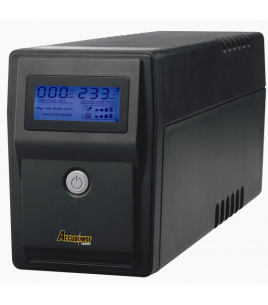 Accupower EyeOn 600, Line Interactive UPS 600VA/360W, LCD Display (01-0002876)
