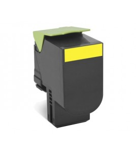 Lexmark 702HY Yellow Toner, High Yield 3000 pages (70C2HY0)