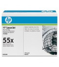 HP CE255X LaserJet P3015 Black Cartridge