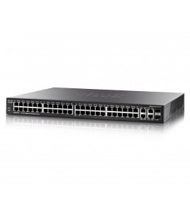 Cisco SG300-52P Small Business Managed Switch, 50 Gigabit PoE ports + 2 combo SFP ports (SG300-52P-K9-EU)