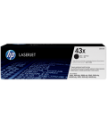 HP Cartridge Laser No 43X Black (C8543X)