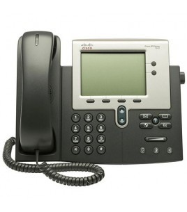 Cisco Unified IP Phone 7942G, 2-line, 2-Port Switch, PoE (CP-7942G=)