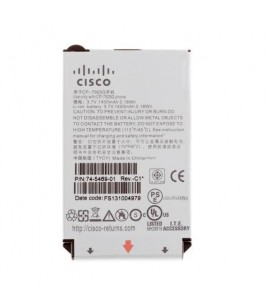 Cisco Extended Battery for Unified Wireless IP Phone 7925G, 7925G-EX, 7926G (CP-BATT-7925G-EXT=)