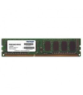 Patriot Signature Line 8GB DDR3 1600MHz (PC3-12800), Non-ECC, CL11 (PSD38G16002)