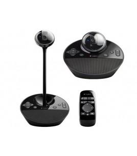 Logitech BCC950 ConferenceCam, HD 1080p, Motorized pan tilt and zoom, Remote Control (960-000867)