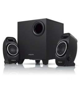 Creative A250 Loud 2.1 speaker system with impressive bass (51MF0420AA000)