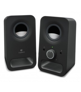 Logitech Z150 Multimedia Speakers, 2.0, Black (980-000814)
