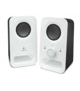 Logitech Z150 Multimedia Speakers, 2.0, White (980-000815)