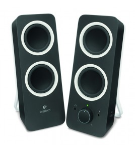 Logitech Z200 Multimedia Speakers, 2.0, Black (980-000810)