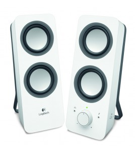 Logitech Z200 Multimedia Speakers, 2.0, White (980-000811)