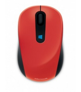 Microsoft Sculpt Mobile Wireless Mouse Red (43U-00026)
