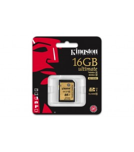 Kingston Ultimate Card SDA10/16GB UHS-I SDXC 16GB Class 10